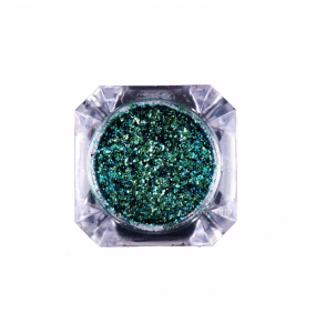 Sequins Chameleon Green-Gold 0.12-0.15gr